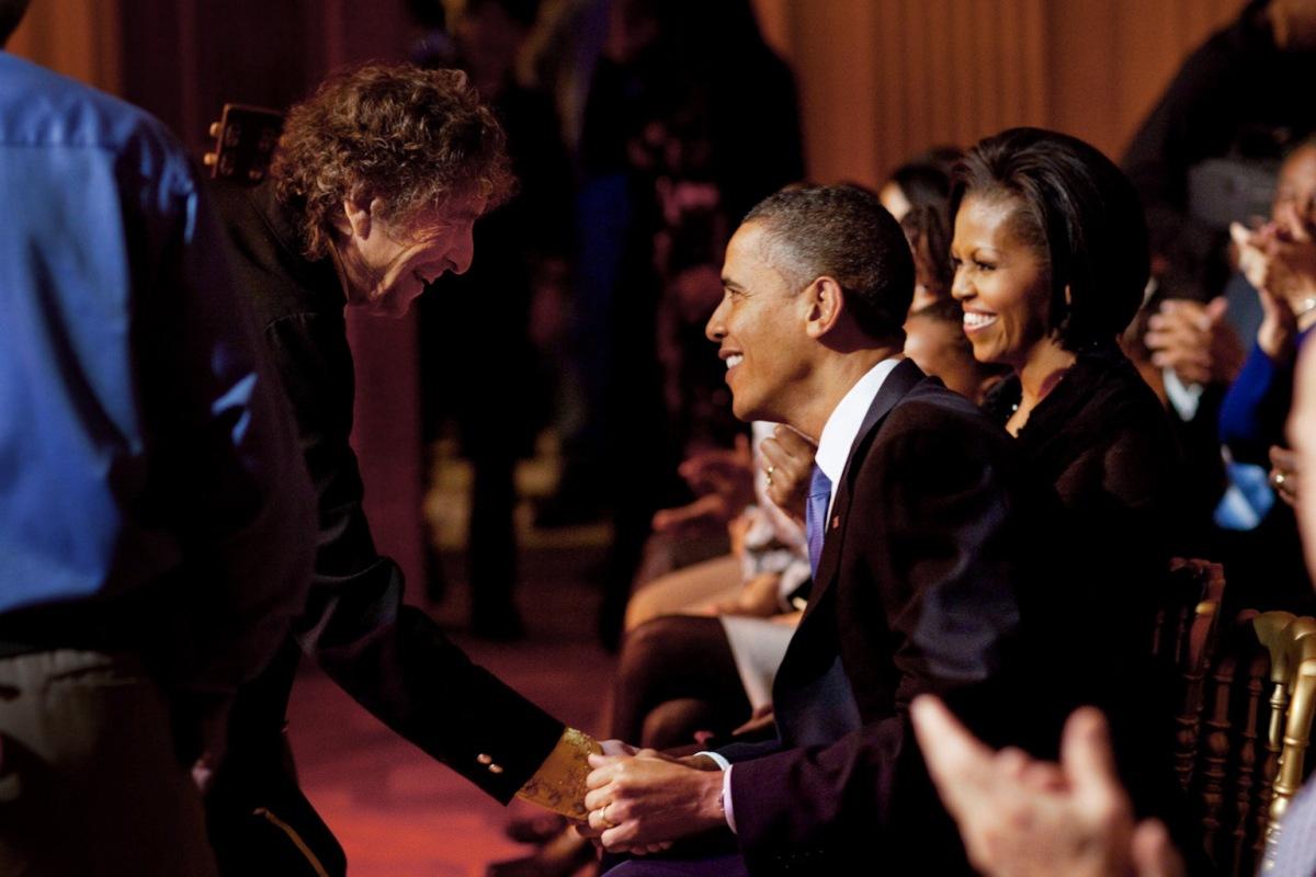 Barack Obama sobre Bob Dylan